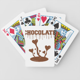 Chocolate Bicycle Playing Cards