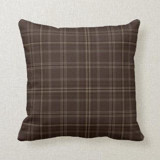 Chocolate Box Tartan Pillow