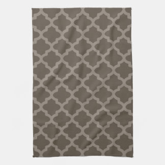 Chocolate Brown Classic Kitchen Towel Gift