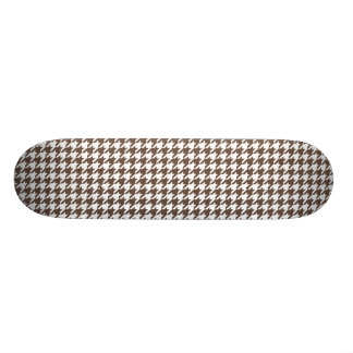 Chocolate Brown Houndstooth Skateboards