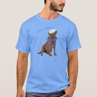 Chocolate Brown Labrador Retriever T-Shirt