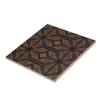 Chocolate Brown Mosaic Ceramic Tile
