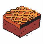 chocolate brownie photo cutout