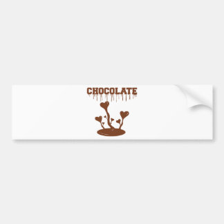 Chocolate Bumper Sticker
