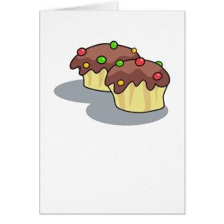 Chocolate Buns Card