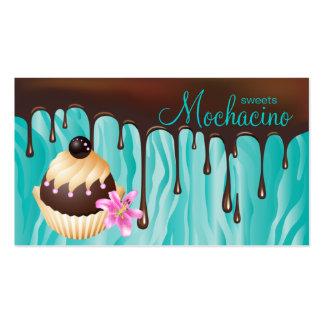 Chocolate Business Card Bakery Cupcake