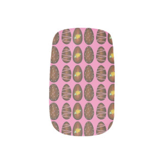 Chocolate Buttercream Easter Egg Candy Nail Decals