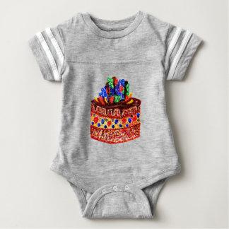 Chocolate Cake 2 Baby Bodysuit