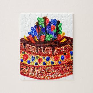Chocolate Cake 2 Jigsaw Puzzle