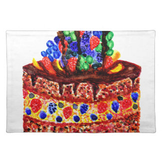 Chocolate Cake 2 Placemat