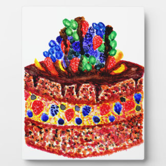 Chocolate Cake 2 Plaque