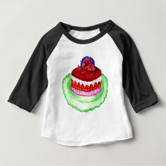 Chocolate Cake 3 Baby T-Shirt