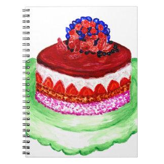 Chocolate Cake 3 Notebook