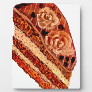 Chocolate Cake 4 Plaque