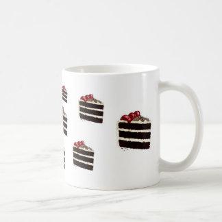 CHOCOLATE CAKE BASIC WHITE MUG