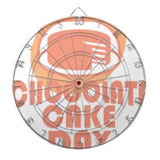 Chocolate Cake Day - Appreciation Day Dartboards