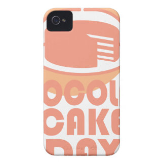 Chocolate Cake Day - Appreciation Day iPhone 4 Case-Mate Cases