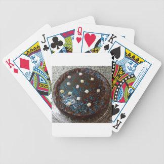 Chocolate cake poker deck