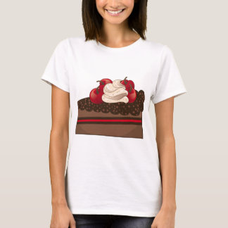 Chocolate cake slice T-Shirt