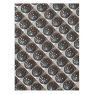 Chocolate cake tablecloth