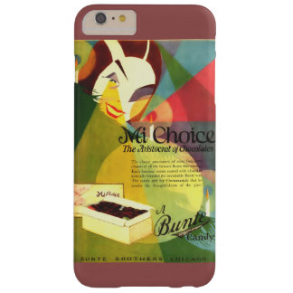Chocolate Candy 1923 vintage ad Barely There iPhone 6 Plus Case