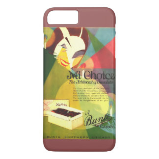 Chocolate Candy 1923 vintage ad iPhone 7 Plus Case