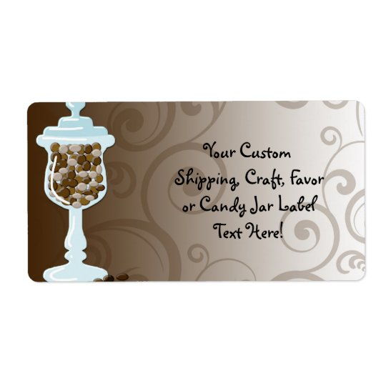 Chocolate Candy Buffet Bar, Urn of Sweets