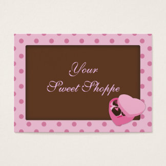 Chocolate Candy Business Cards