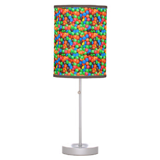 Chocolate candy M&Ms sweets Table Lamp