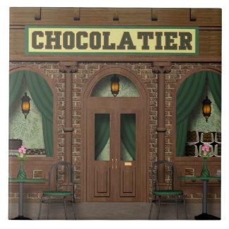Chocolate Candy Shop Cartoon tile