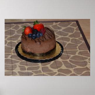 Chocolate Cheesecake Poster