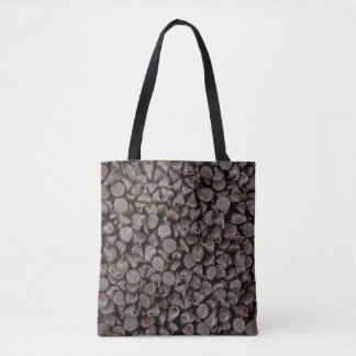 chocolate chip collection tote bag