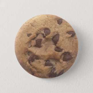 Chocolate Chip Cookie 2 Inch Round Button