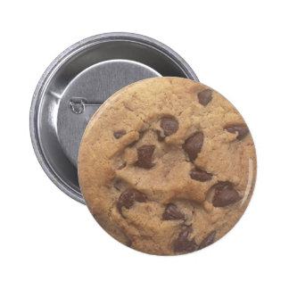Chocolate Chip Cookie 2 Inch Round Button