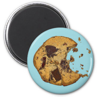 Chocolate Chip Cookie 2 Inch Round Magnet