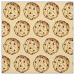 Chocolate Chip Cookie Baked Goods Dessert Food Fabric