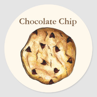 Chocolate Chip Cookie Baking Stickers