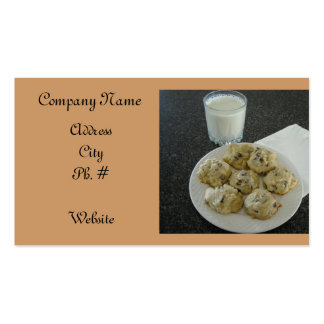 Chocolate Chip Cookie Business Card Template