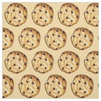 Chocolate Chip Cookie Cookies Dessert Food Fabric