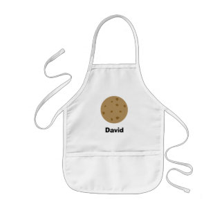 Chocolate Chip Cookie Kids Apron