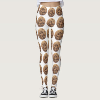 Chocolate Chip Cookie Leggings