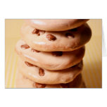 Chocolate Chip Cookie Pile Greeting Card