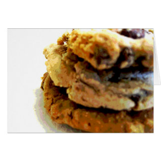 Chocolate Chip Cookie Stack Note Cards