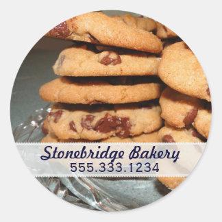 Chocolate Chip Cookies Advertisement Sticker