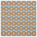 Chocolate Chip Cookies Blue Bake Sale Dessert Food Fabric