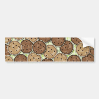 Chocolate Chip Cookies Bumper Sticker