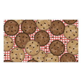 Chocolate Chip Cookies Pack Of Standard Business Cards