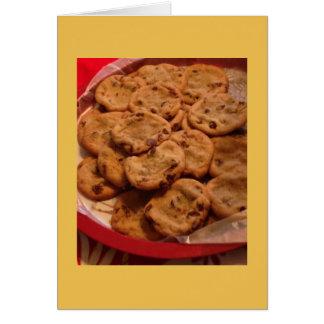 Chocolate Chip Cookies Photo Card