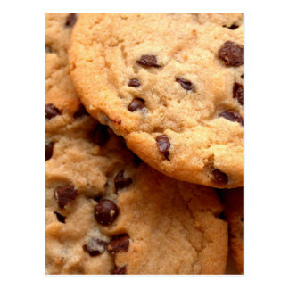 Chocolate Chip Cookies Postcard
