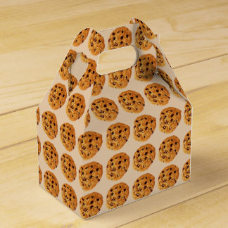 Chocolate Chip Cookies Wedding Favor Boxes